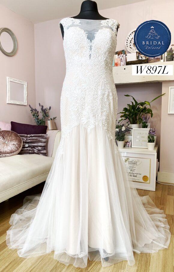 Berketex | Wedding Dress | Fit to Flare | W897L
