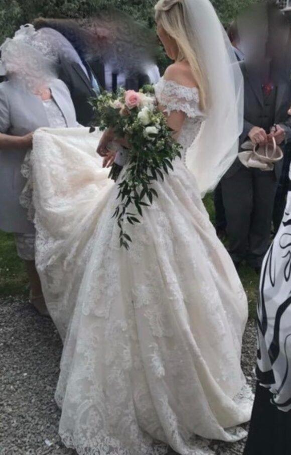 Madeline Gardner   Wedding Dress   Princess   C1949