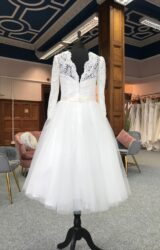 Ronald Joyce | Wedding Dress | Tea Length | G24C