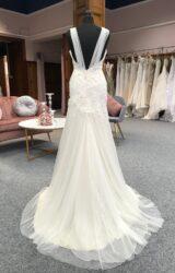 Terry Fox | Wedding Dress | Drop Waist | G19