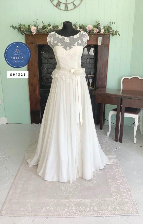 Lou Lou   Wedding Dress   Aline   SH132S