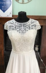 White Rose | Wedding Dress | Aline | SH187S