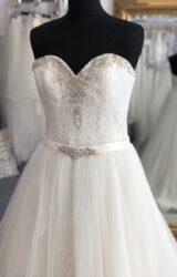 Sophia Bianca | Wedding Dress | Fit to Flare | WF319H