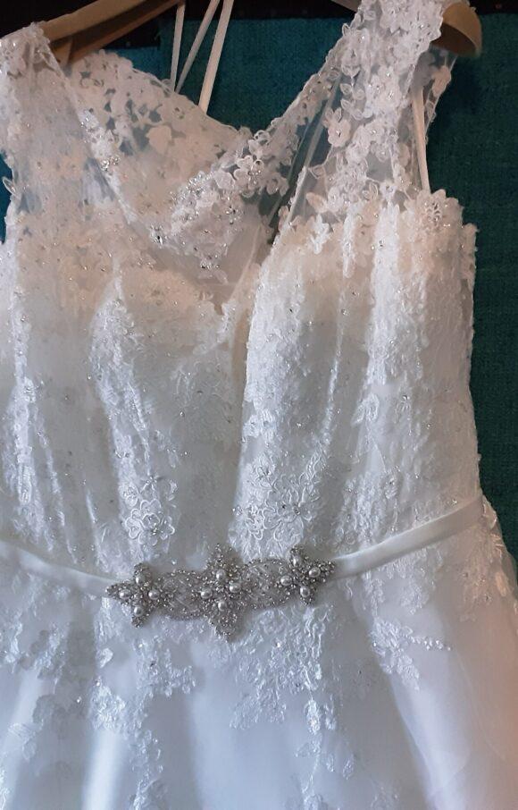 Ronald Joyce   Wedding Dress   Aline   C2084