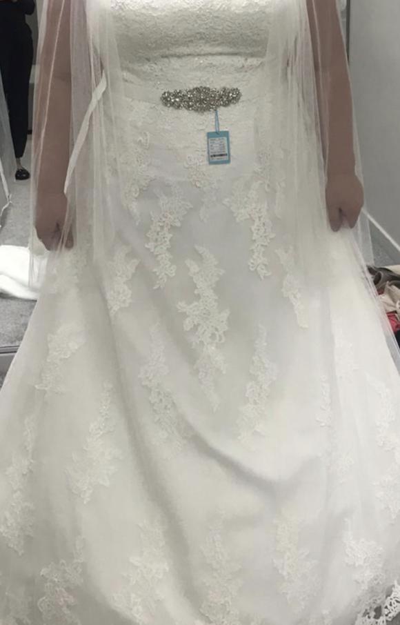 Wed2B | Wedding Dress | Aline | C2080