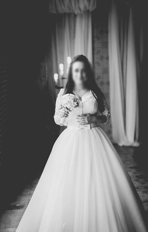 Custom Made   Wedding Dress   Princess   C2044