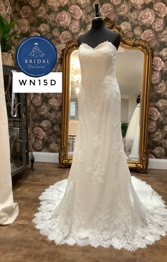 Terry Fox | Wedding Dress | Fit to Flare | WN15