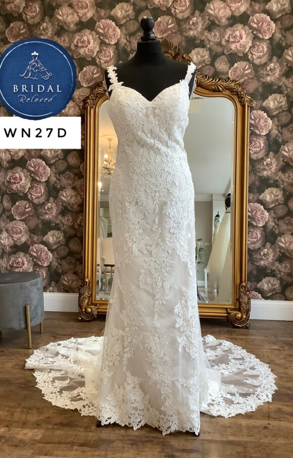 Stella York | Wedding Dress | Fit to Flare | WN27D