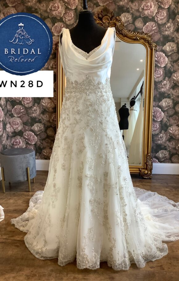 Ronald Joyce   Wedding Dress   Aline   WN28D