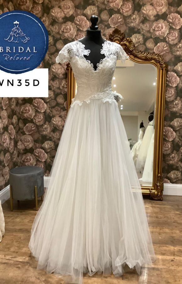 David Fielden   Wedding Dress   Aline   WN35D