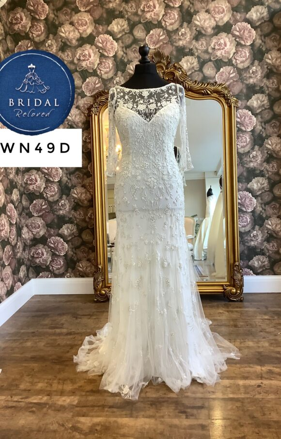Eliza Jane Howell   Wedding Dress   Fit to Flare   WN49D