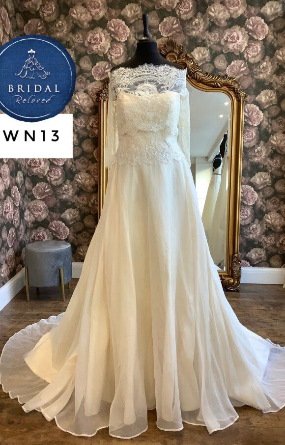 Terry Fox | Wedding Dress | Aline | WN13