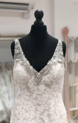 Justin Alexander | Wedding Dress | Fit to Flare | LE386M