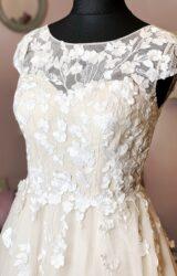 White Rose   Wedding Dress   Aline   W970L