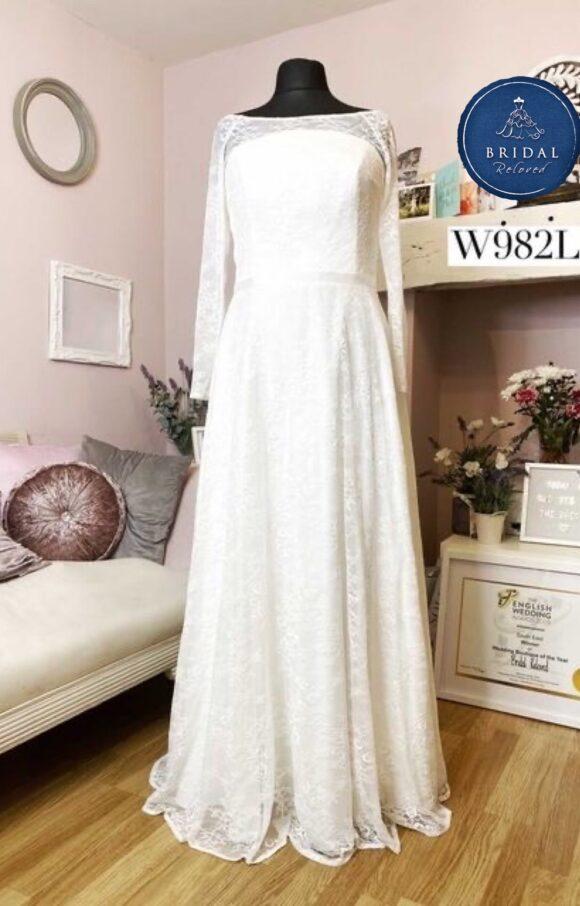 Bianco Evento   Wedding Dress   Aline   W982L