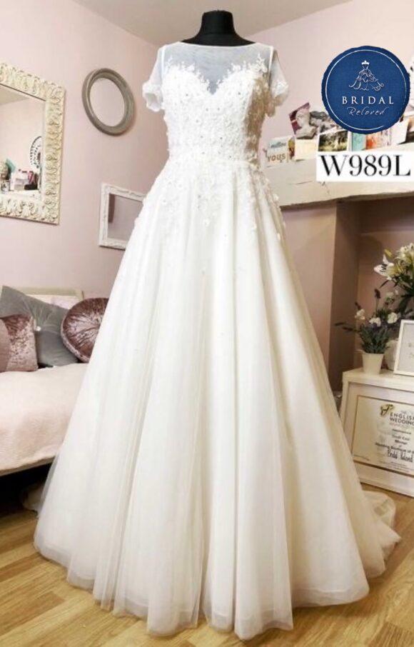 White Rose | Wedding Dress | Aline | W989L