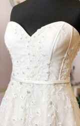 White Rose | Wedding Dress | Aline | W991L