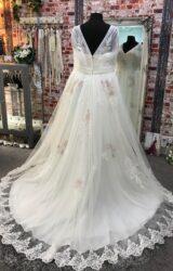White Rose | Wedding Dress | Aline | CA223G