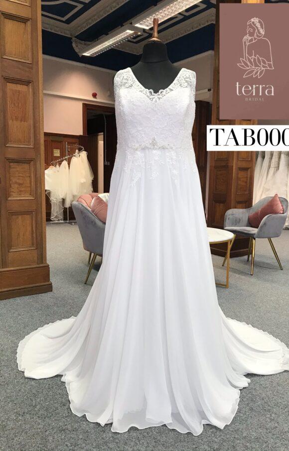 Terra Bridal   Wedding Dress   Aline   TAB0001
