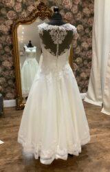 Justin Alexander | Wedding Dress | Tea length | WN40D