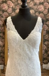 Watters | Wedding Dress | Fit to Flare | WN58D