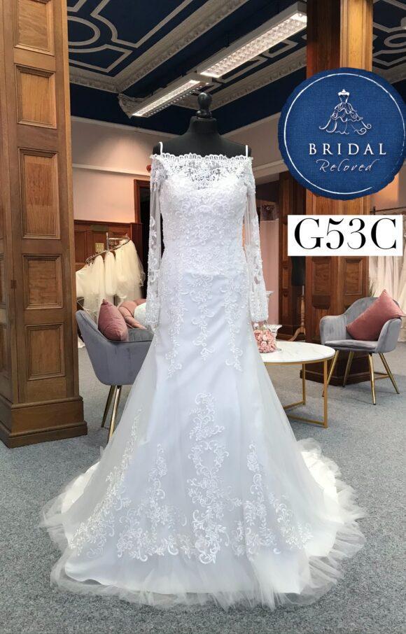Ronald Joyce   Wedding Dress   Fit to Flare   G53C