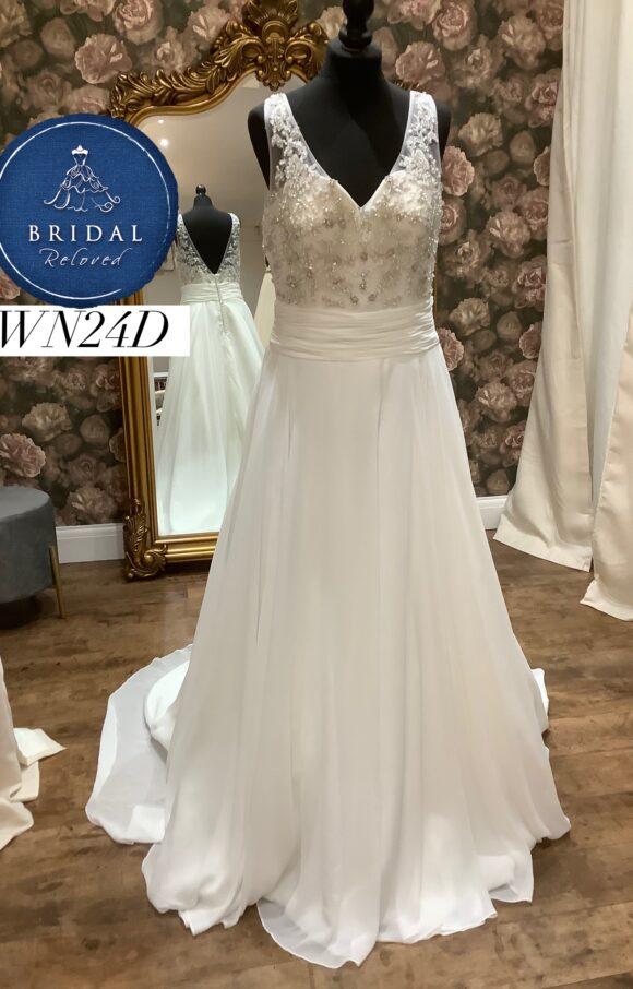 Alexia | Wedding Dress | Aline | WN24D