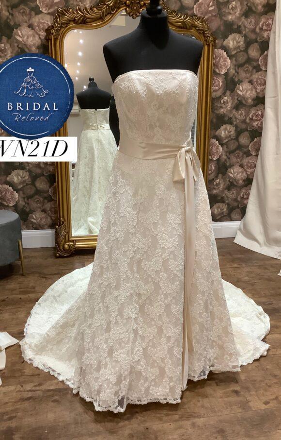 White Rose   Wedding Dress   Aline   WN21D