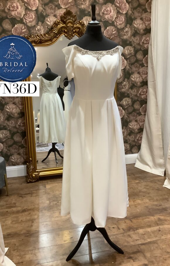 Rita Mae   Wedding Dress   Tea Length   WN36D