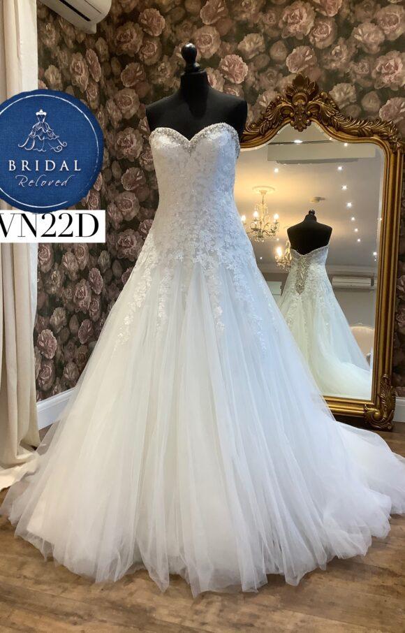 Morilee | Wedding Dress | Aline | WN22D