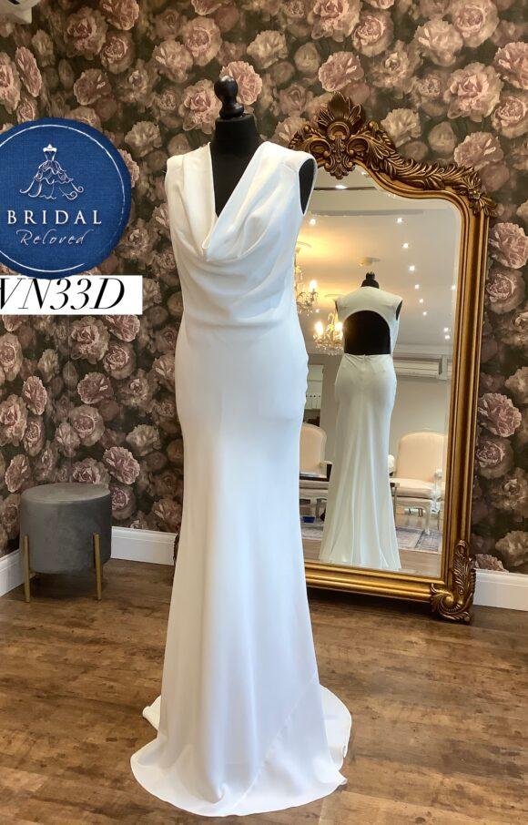 David Fielden | Wedding Dress | Sheath | WN33D