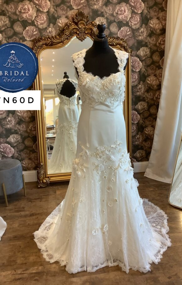 Watters | Wedding Dress | Fit to Flare | WN60D