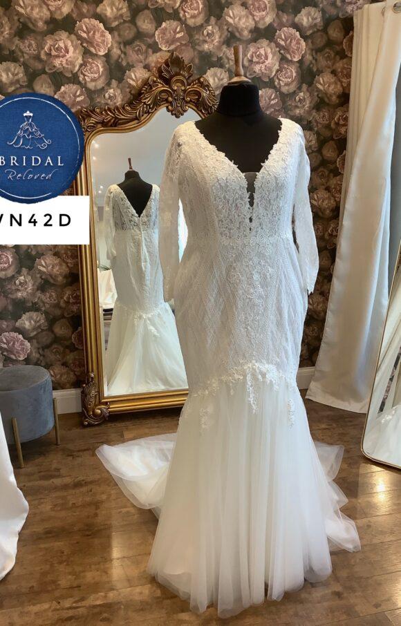 Terra Bridal   Wedding Dress   Fishtail   WN42D