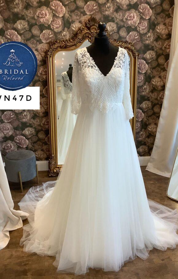 Terra Bridal   Wedding Dress   Aline   WN47D