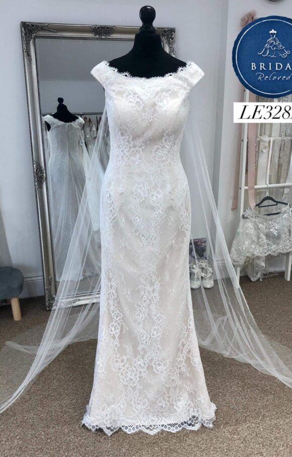 Rita Mae | Wedding Dress | Fit to Flare | LE328M