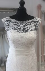 Sincerity | Wedding Dress | Fit to Flare | LE329M
