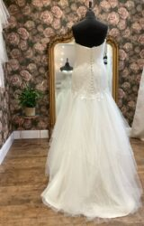 Sassi Holford | Wedding Dress | Drop Waist | WN69D
