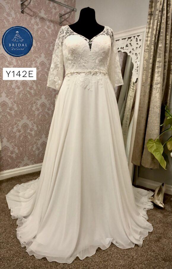 Nieve Couture | Wedding Dress | Aline | Y142E