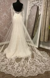 Nieve Couture | Wedding Dress | Fit to Flare | Y143E