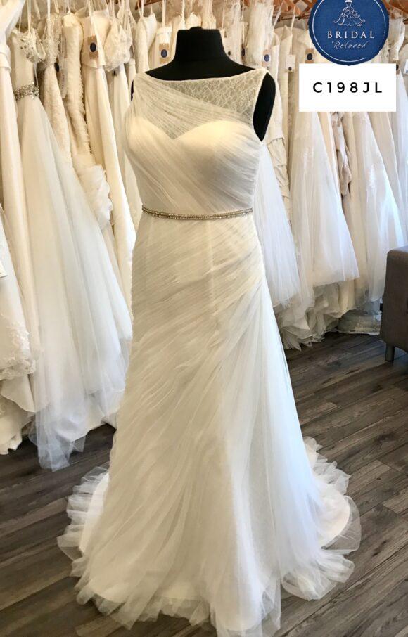 San Patrick   Wedding Dress   Aline   C198JL