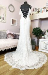 Lillian West | Wedding Dress | Fit to Flare | W1027L