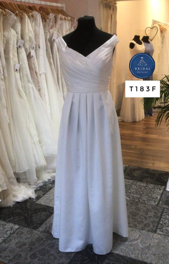 Amanda Wyatt   Wedding Dress   Aline   T183F