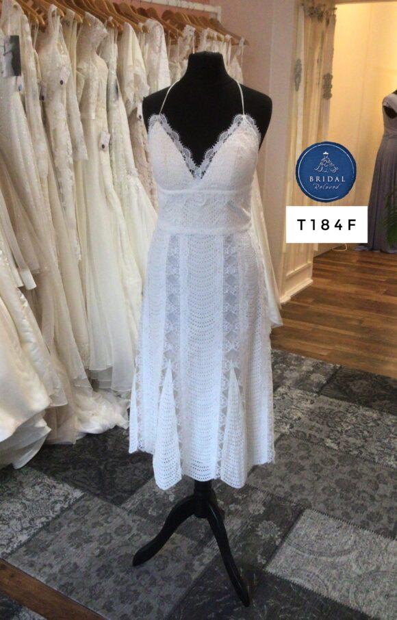 Catherine Deane   Wedding Dress   Tea Length   T184F