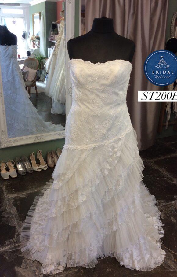 Madeline Gardner   Wedding Dress   Drop Waist   ST200H