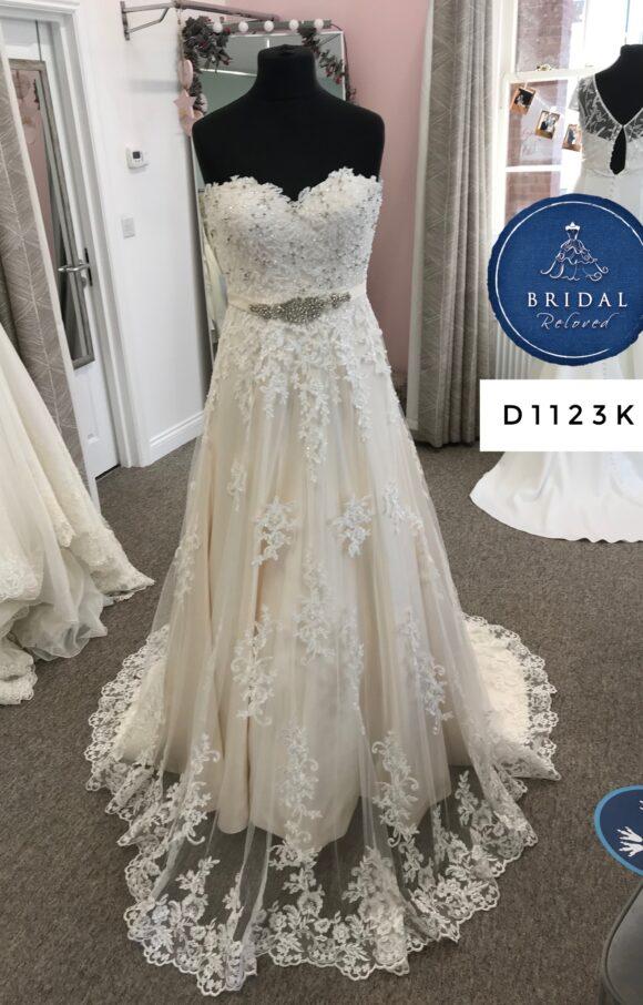 Amelia Grey | Wedding Dress | Aline | D1123K