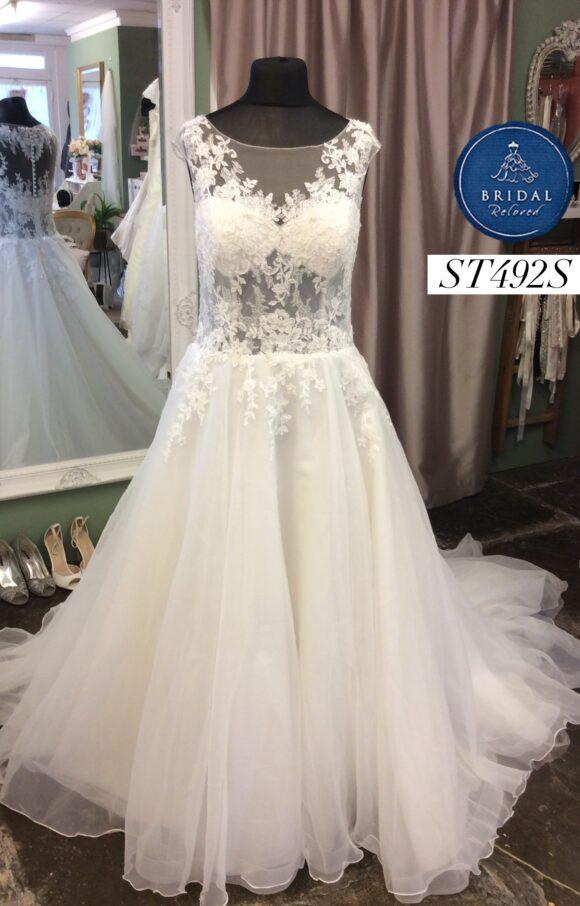 Venus | Wedding Dress | Aline | ST492S