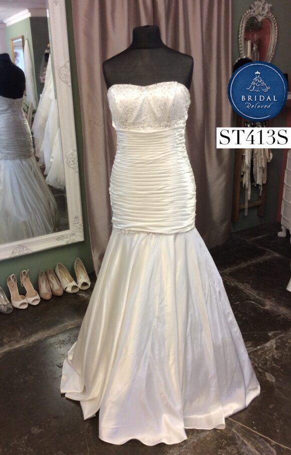Romantica   Wedding Dress   Drop Waist   ST413S