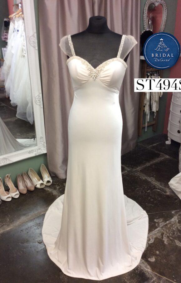 Sacha James | Wedding Dress | Column | ST494S
