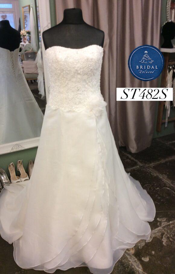 Demetrios | Wedding Dress | Aline | ST482S