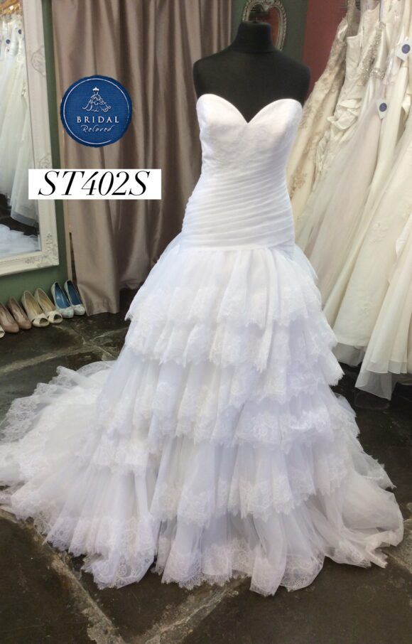 Morilee | Wedding Dress | Drop Waist | ST402S
